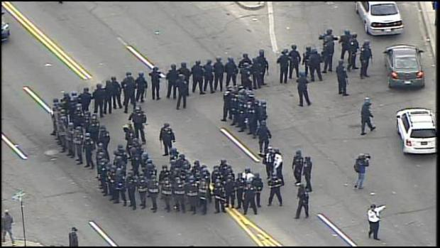 Baltimore is burning (video) (UPDATED 4/28)