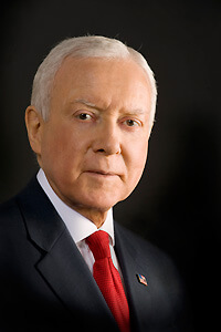 Go to Message from Senator Hatch