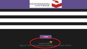 Dominion Voting uses SolarWinds
