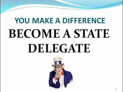 Go to 2012-2014 State Delegate Duties and Responsibilies